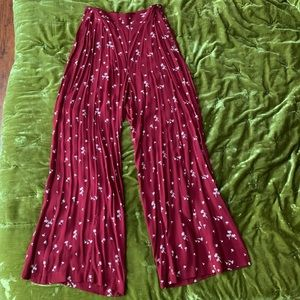 Free People Other - Free people crop top and wide leg pants